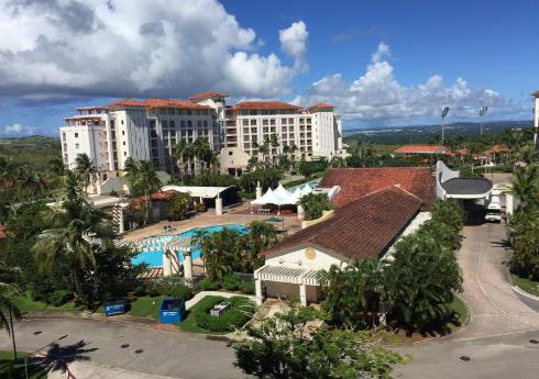 宿泊ホテル外観の写真