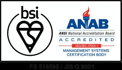 ISO9001 品質・個人情報への取り組みページへ